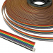 Шлейф: RC-10 Color 22AWG Cu pitch 1.7 mm